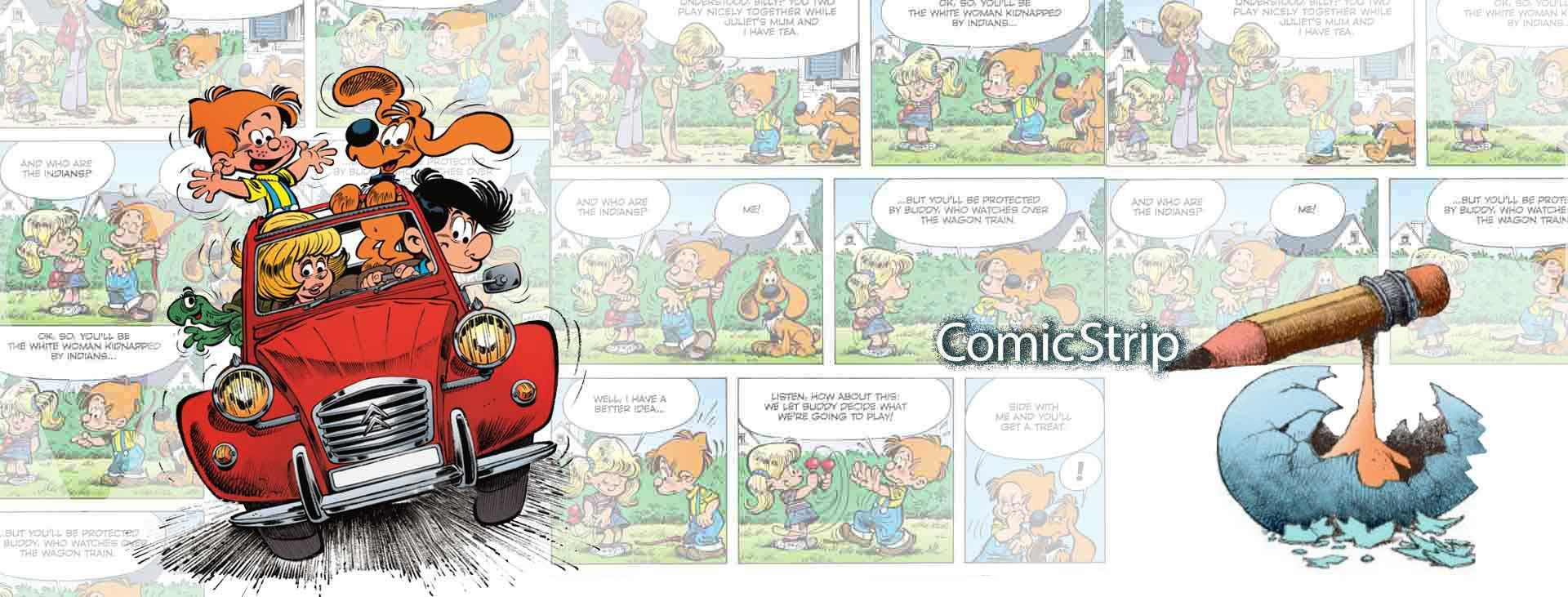 Comic strip 2 1 1 - کمیک استریپ