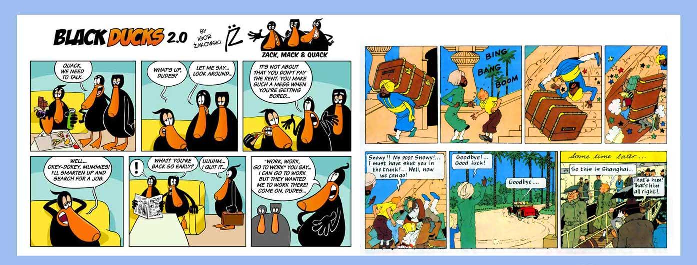 Comic strip 65 - کمیک استریپ