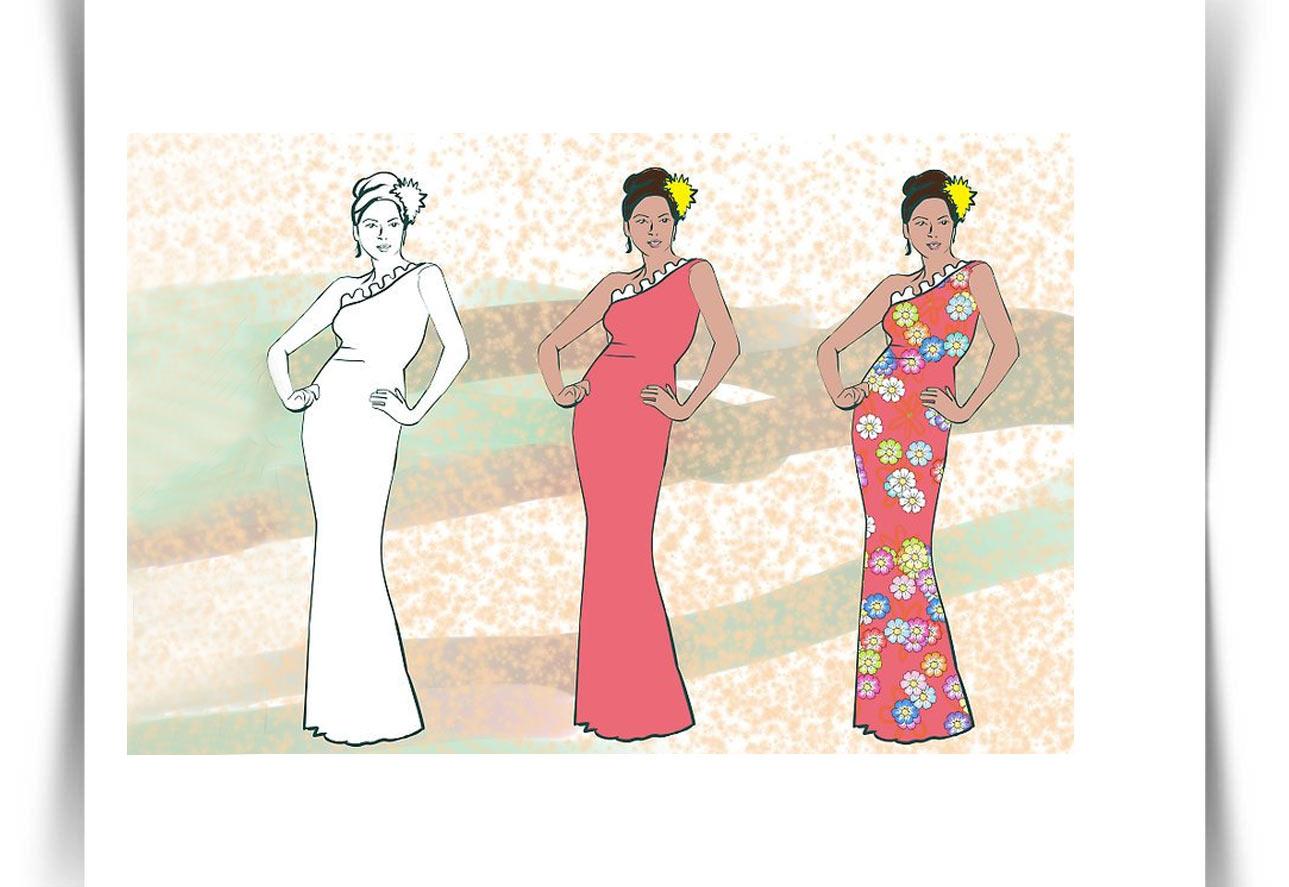Draw Fashion Sketches 13 - طراحی مد لباس