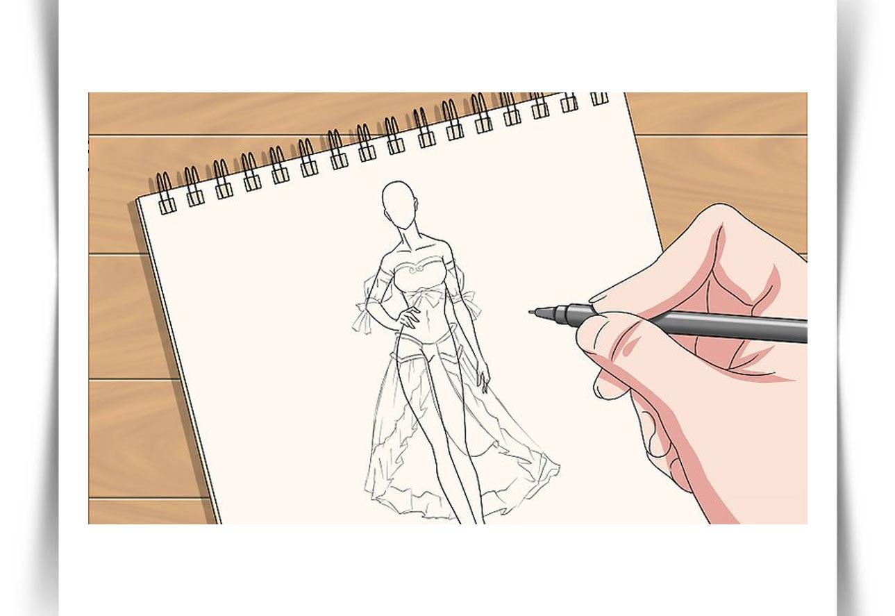 Draw Fashion Sketches 15 - طراحی مد لباس