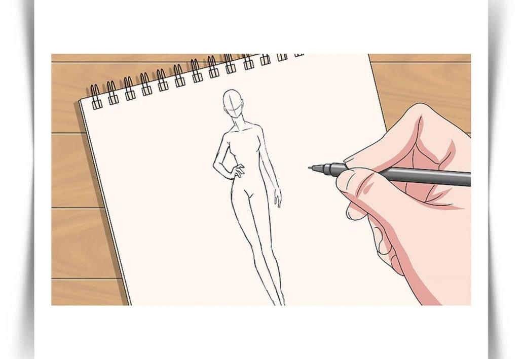 Draw Fashion Sketches 16 - طراحی مد لباس
