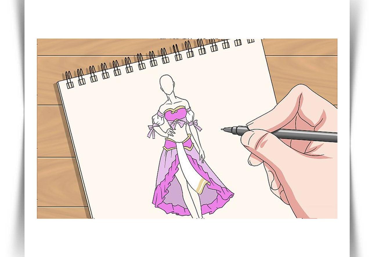 آموزش طراحی مد لباس