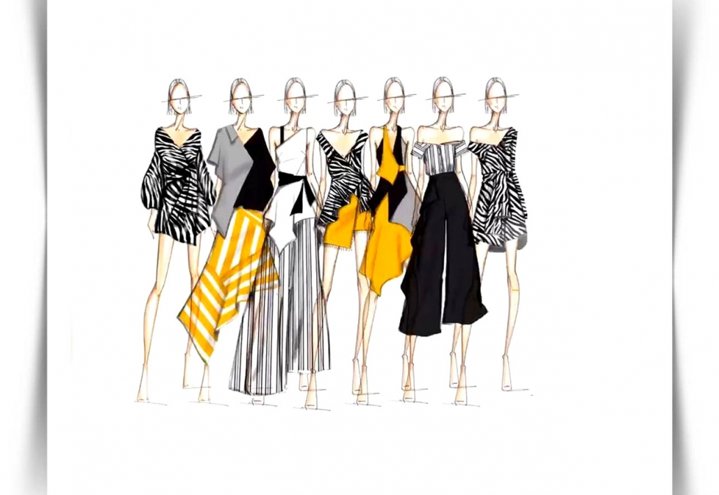 Draw Fashion Sketches 20 1030x709 - طراحی مد لباس