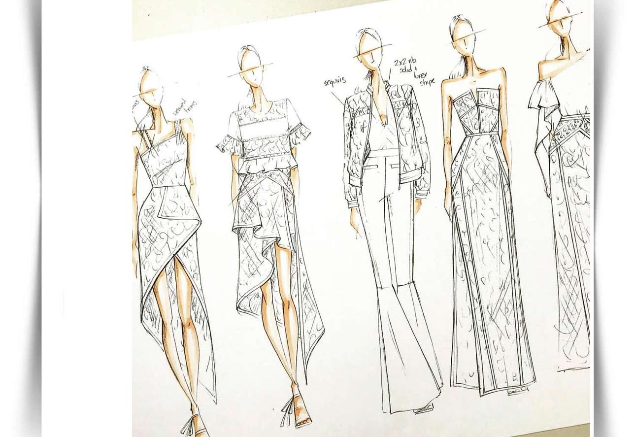 Draw Fashion Sketches 44 - طراحی مد لباس