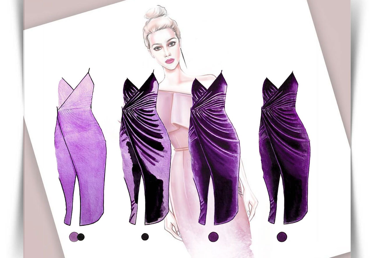 Draw Fashion Sketches 888 - طراحی مد لباس