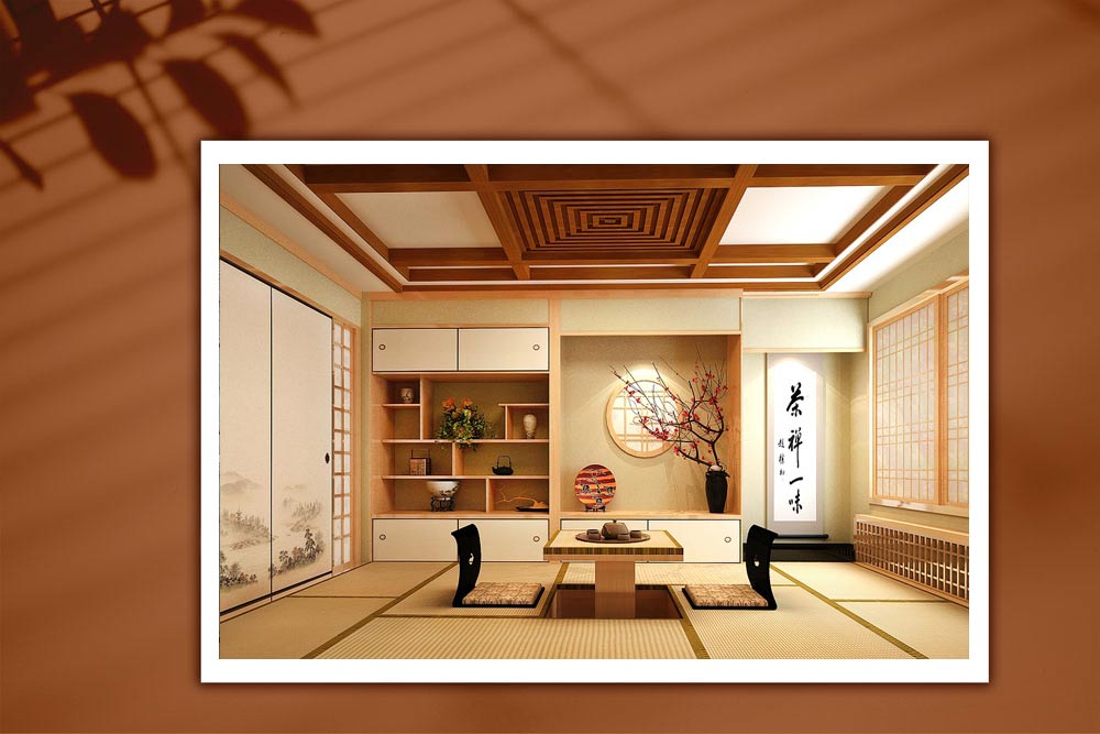 Japanese style 09 - طراحی دکوراسیون داخلی به سبک ژاپنی ها