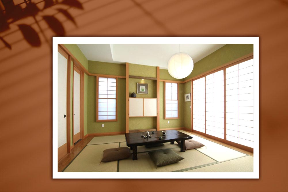 Japanese style 122 - طراحی دکوراسیون داخلی به سبک ژاپنی ها