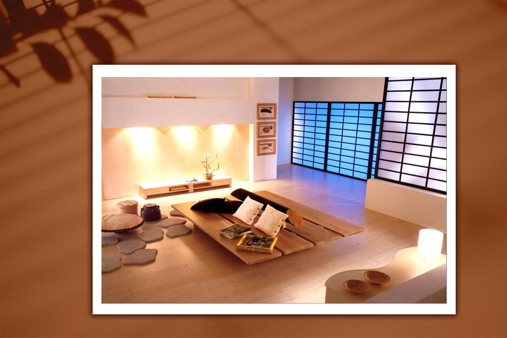 Japanese style 133 - طراحی دکوراسیون داخلی به سبک ژاپنی ها