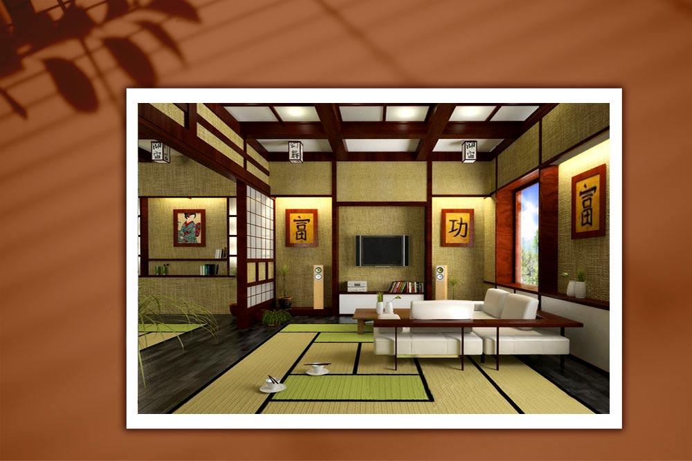 Japanese style 17 - طراحی دکوراسیون داخلی به سبک ژاپنی ها