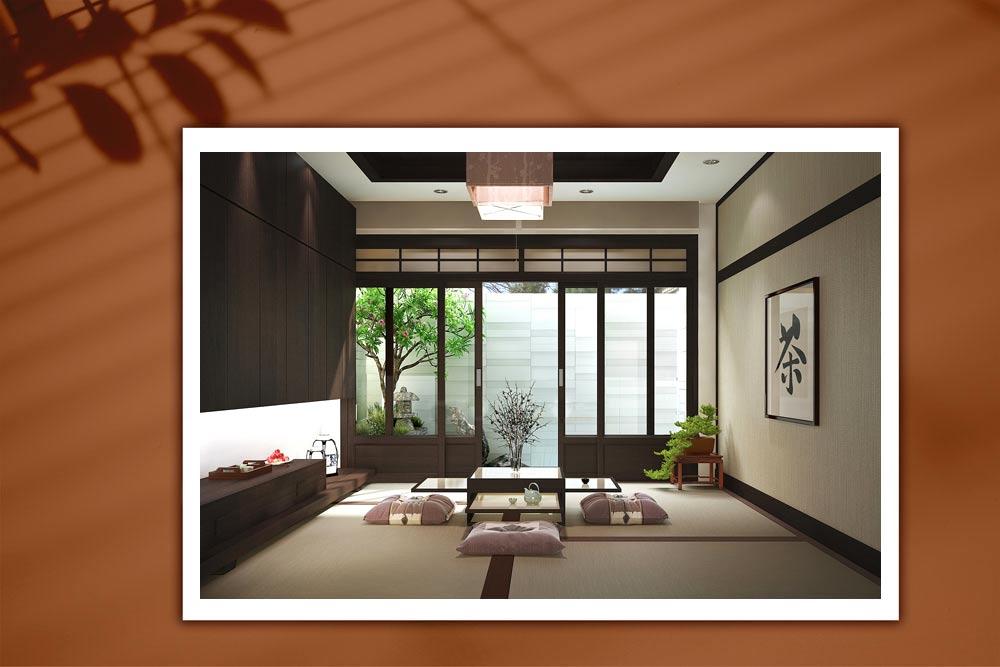 Japanese style 64 - طراحی دکوراسیون داخلی به سبک ژاپنی ها