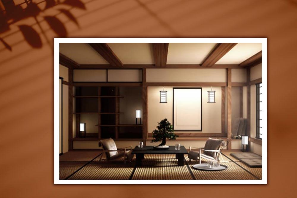 طراحی دکوراسیون داخلی به سبک ژاپنی