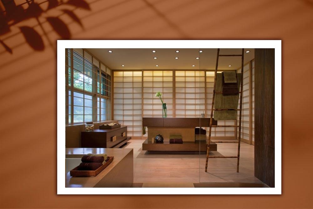 Japanese style 8 - طراحی دکوراسیون داخلی به سبک ژاپنی ها