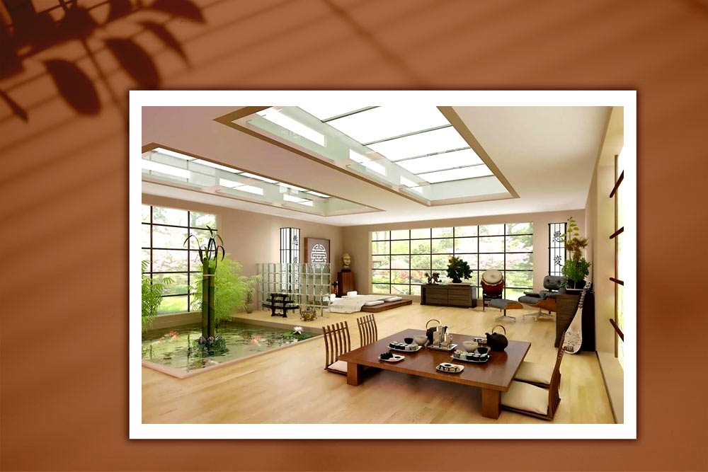 Japanese style 89 - طراحی دکوراسیون داخلی به سبک ژاپنی ها