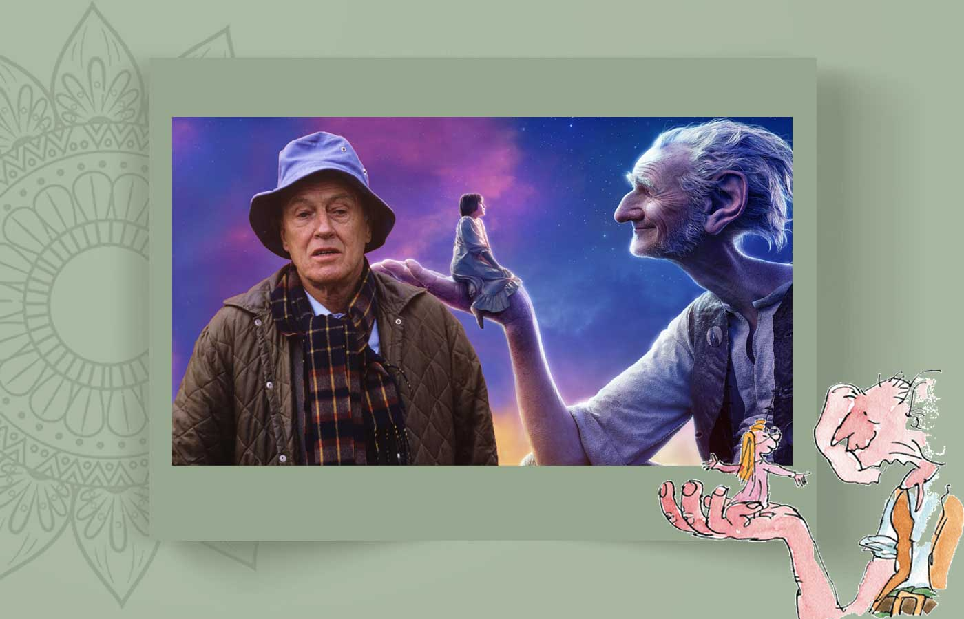 Roald Dah 3l - رولد دال و غول ادبیات کودکان ، Roald Dahl