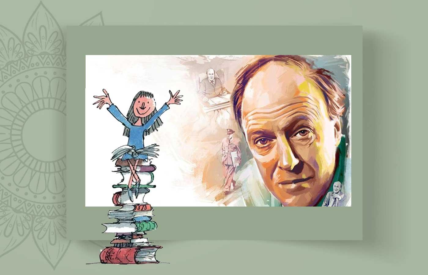 Roald Dah 5l - رولد دال و غول ادبیات کودکان ، Roald Dahl