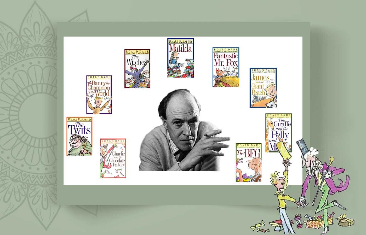 Roald Dah 7 - رولد دال و غول ادبیات کودکان ، Roald Dahl