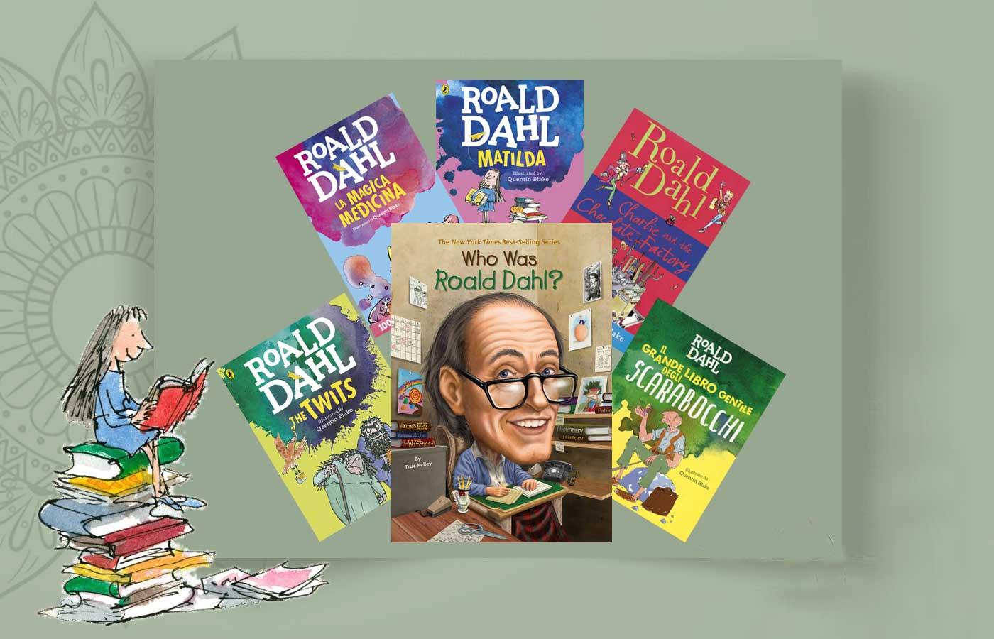 Roald Dah 9 - رولد دال و غول ادبیات کودکان ، Roald Dahl