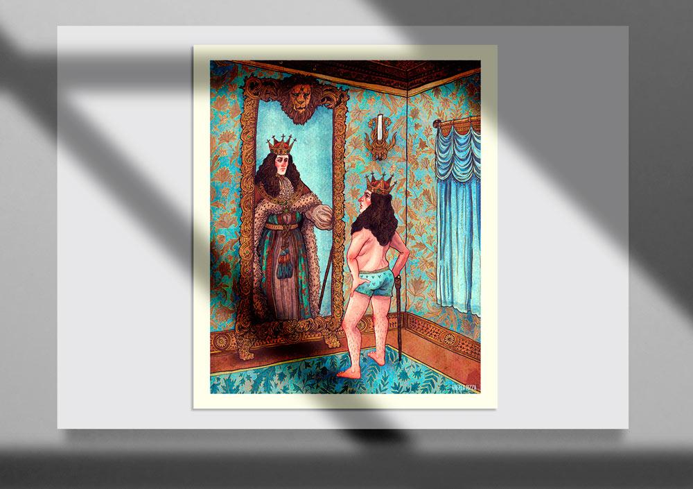 Storybook Illustration 12 - تصویرگری متن کتاب داستان