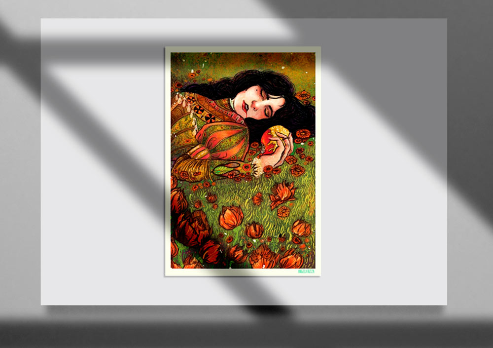 Storybook Illustration 14 - تصویرگری متن کتاب داستان