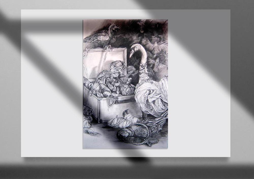Storybook Illustration 17jpg - تصویرگری متن کتاب داستان