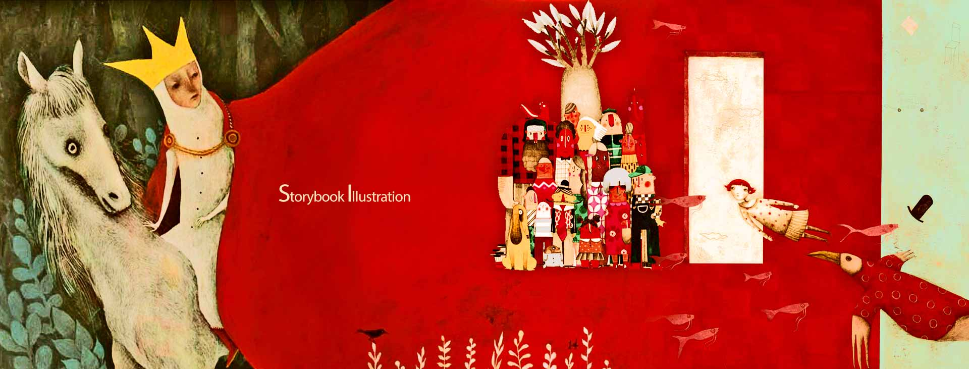 Storybook Illustration 2 - تصویرگری متن کتاب داستان