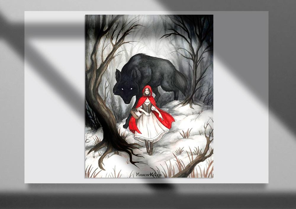 Storybook Illustration 20 - تصویرگری متن کتاب داستان