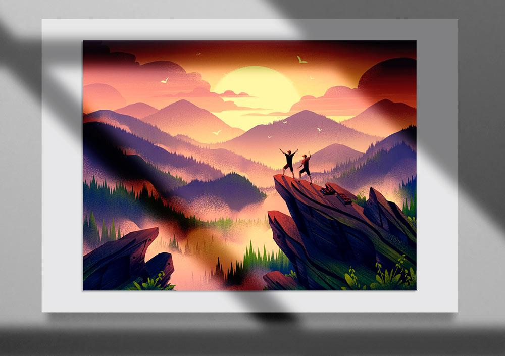Storybook Illustration 22jpg - تصویرگری متن کتاب داستان