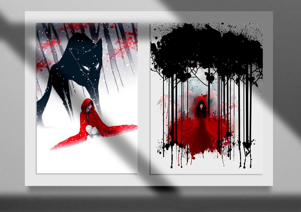 Storybook Illustration 23jpg - تصویرگری متن کتاب داستان