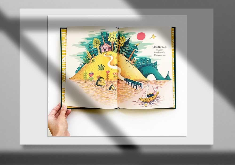 Storybook Illustration 3 1 - تصویرگری متن کتاب داستان