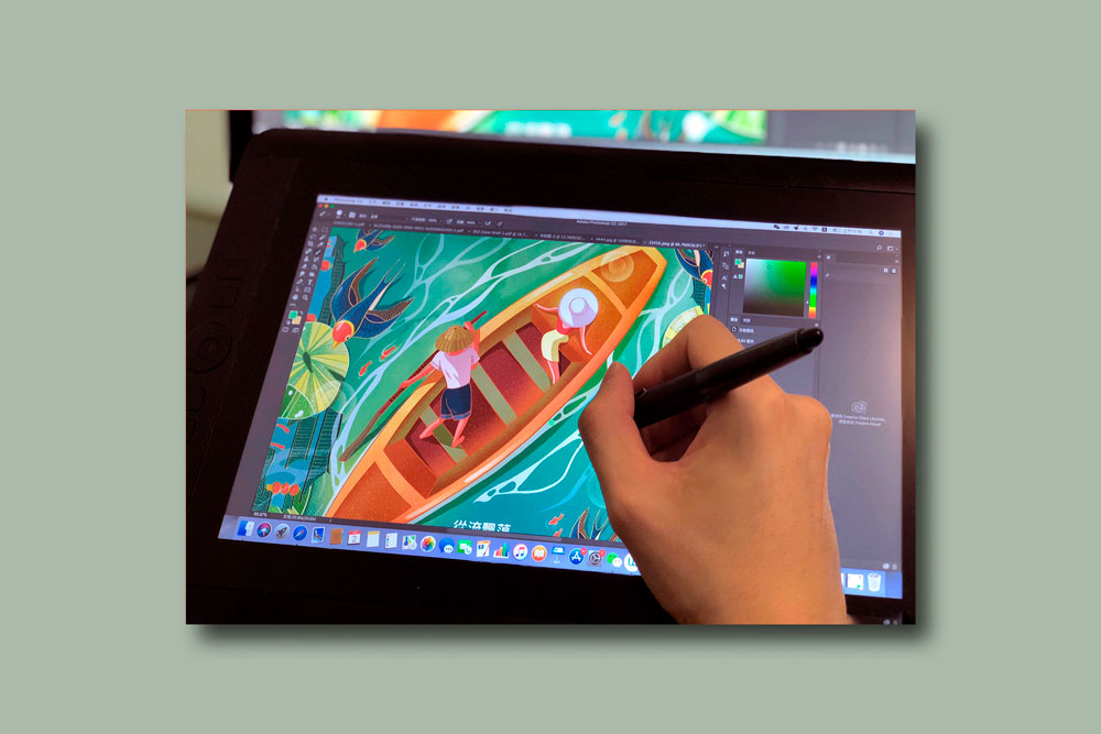 modern illustration11 - تصویرسازی مدرن