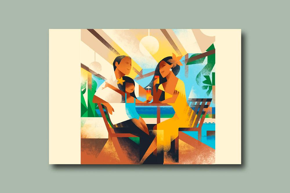 modern illustration23 - تصویرسازی مدرن