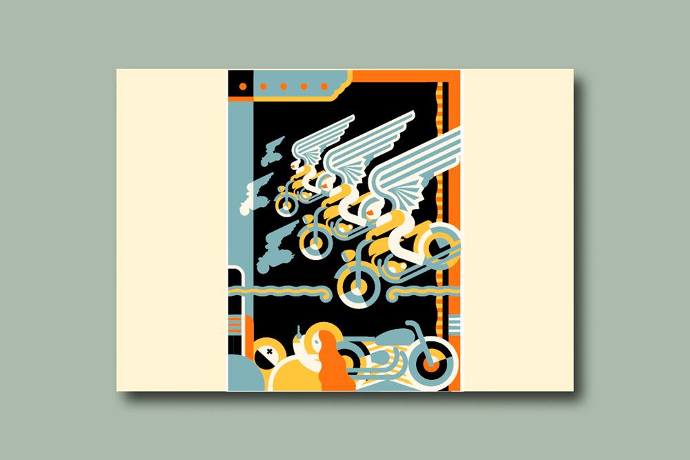 modern illustration24 - تصویرسازی مدرن