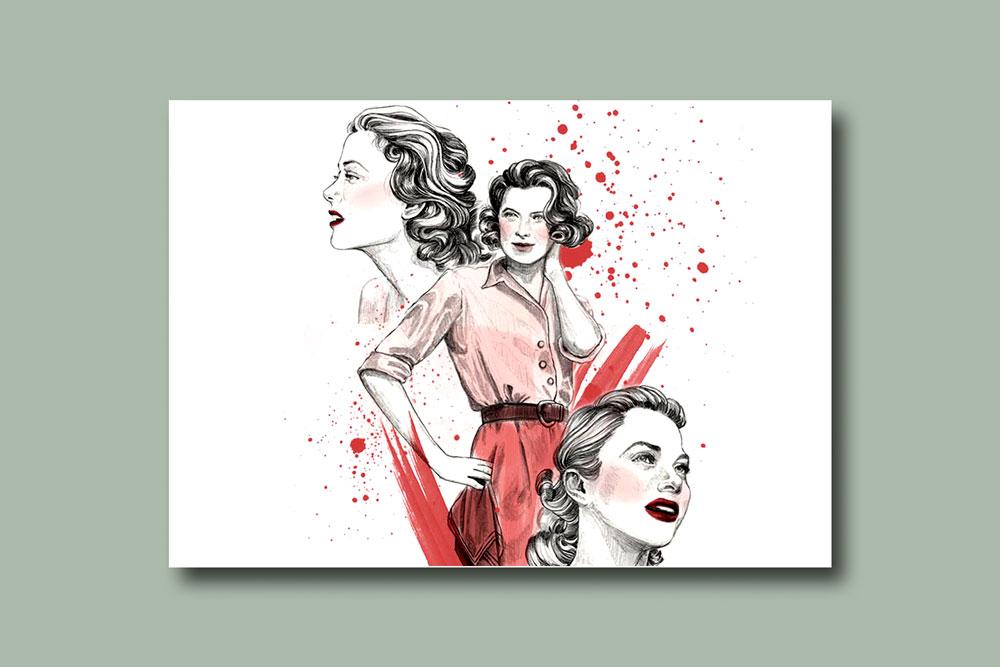 modern illustration 8 - تصویرسازی مدرن