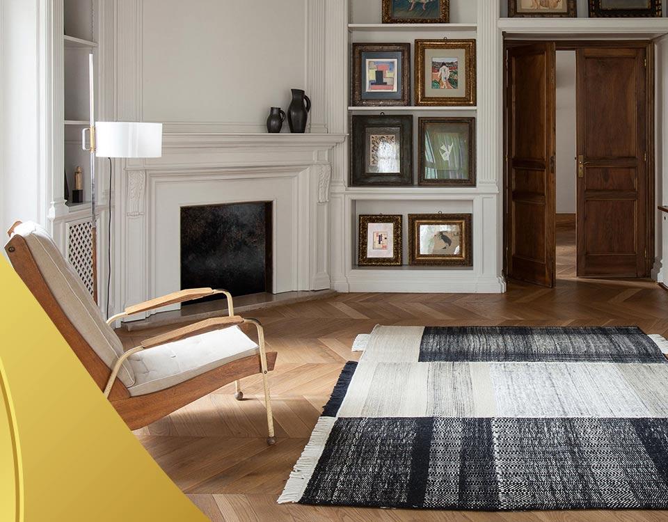 rugs in interior design 1 - فرش و طراحی دکوراسیون داخلی