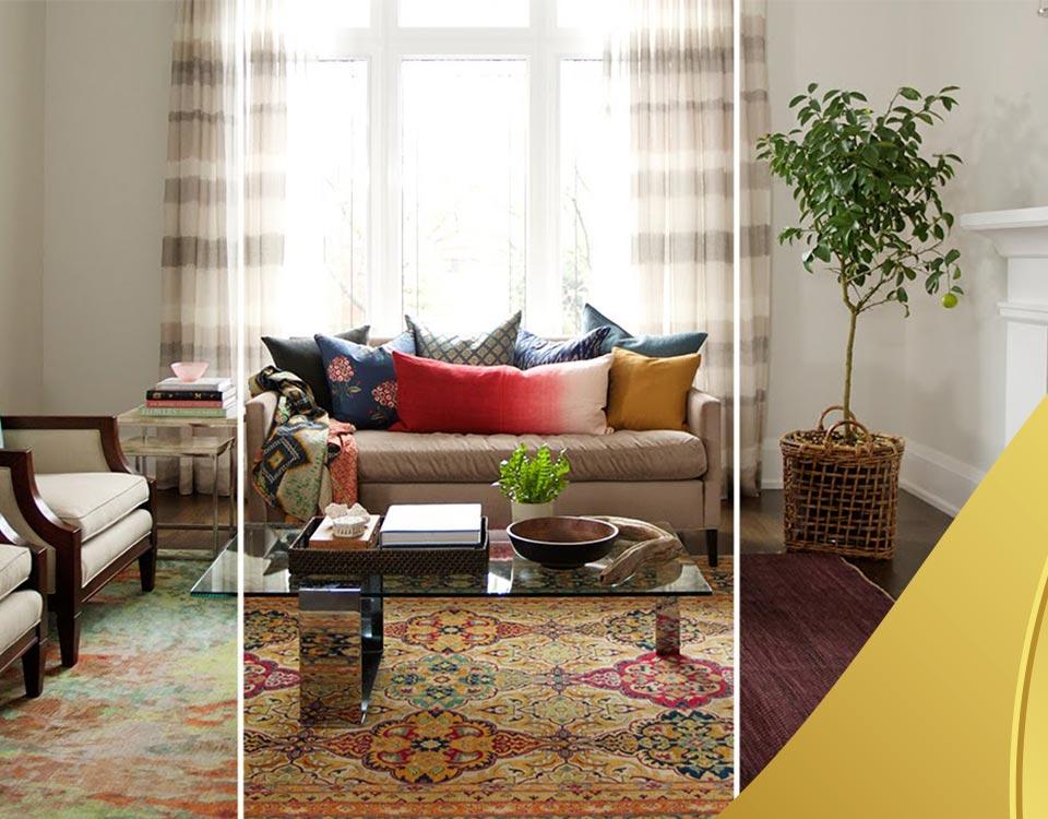 rugs in interior design 2 - فرش و طراحی دکوراسیون داخلی