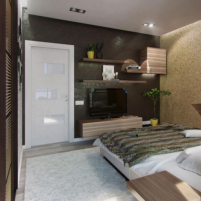 bedroom decoration 12 - انواع دکوراسیون برای اتاق خواب