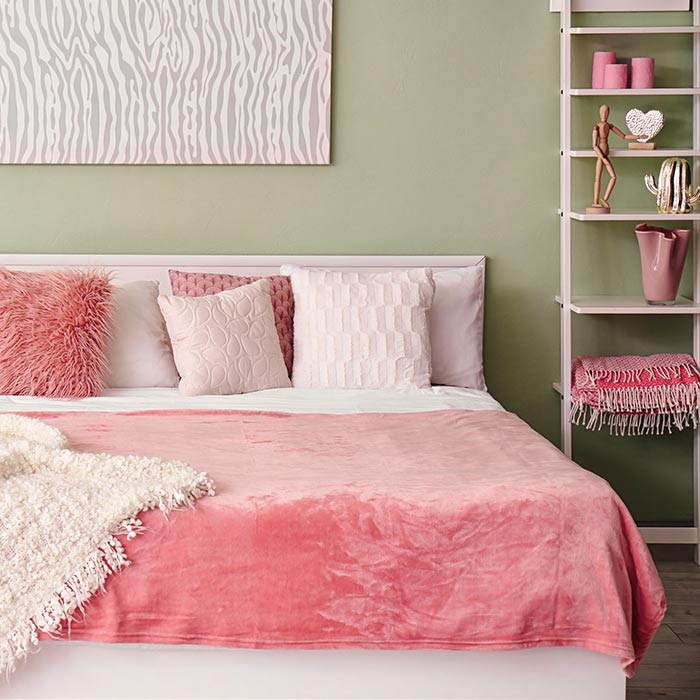bedroom decoration 14 - انواع دکوراسیون برای اتاق خواب