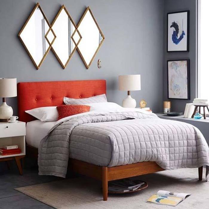 bedroom decoration 19 - انواع دکوراسیون برای اتاق خواب