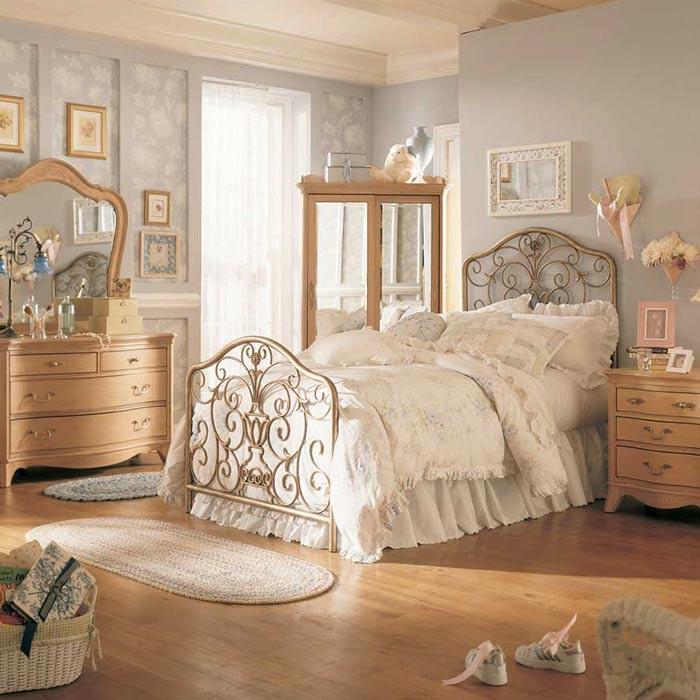 دکوراسیون وینتیج برای اتاق خواب
