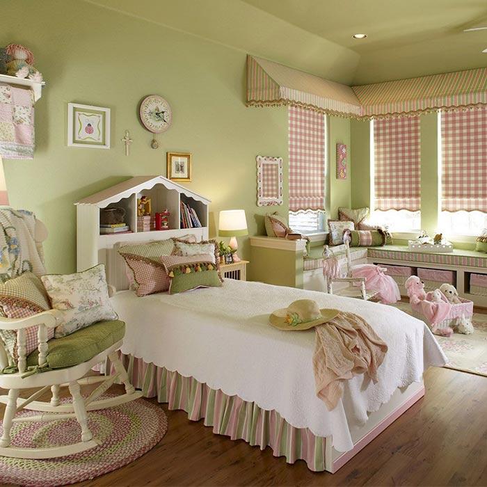 نکاتی در طراحی اتاق خواب دختران از تولد تا نوجوانی