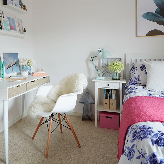 طراحی اتاق خواب دختران از تولد تا نوجوانی