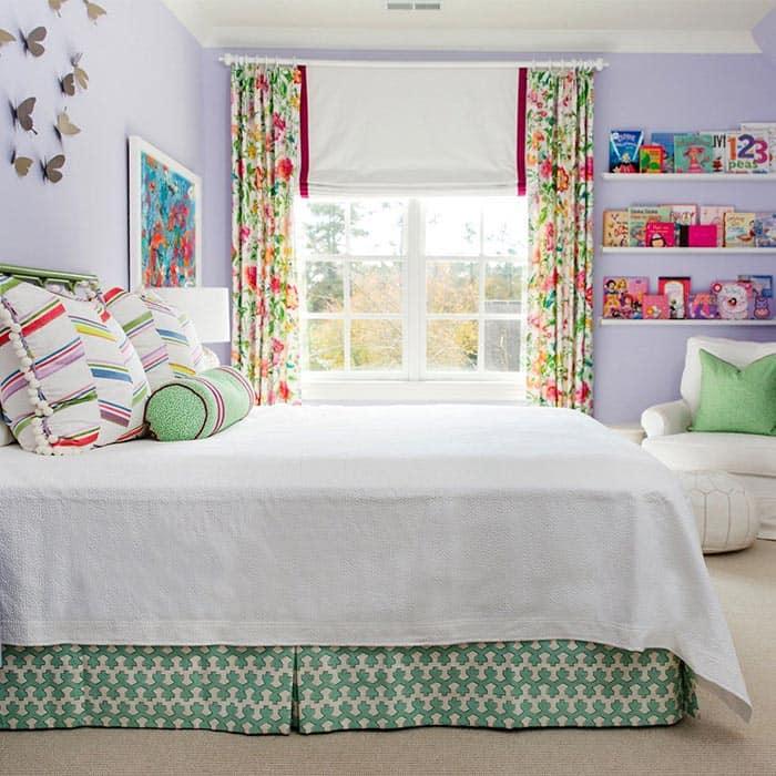 بودجه در تغییر طراحی اتاق خواب دختران از تولد تا نوجوانی