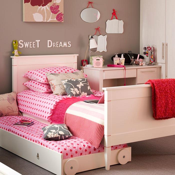 آخرین مرحله تغییرات در طراحی اتاق خواب دختران از تولد تا نوجوانی