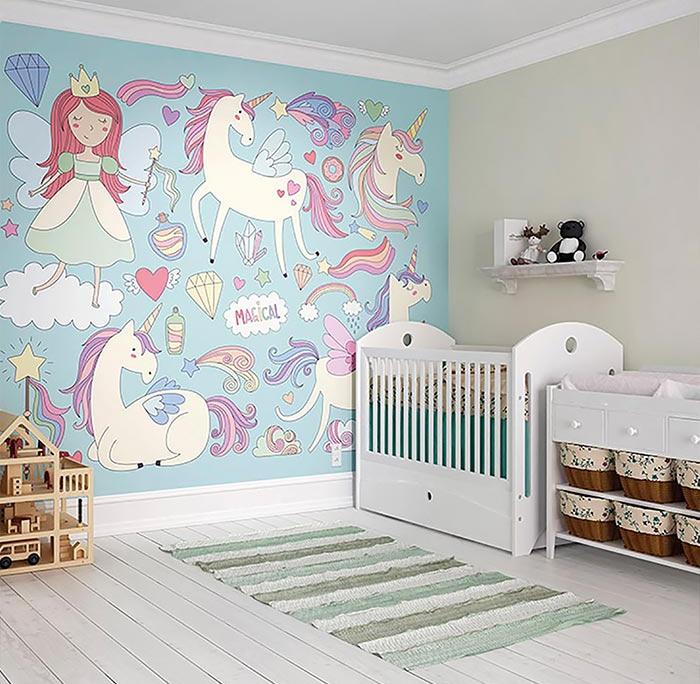رنگ دیوار و پرده ها در تغییر طراحی اتاق خواب دختران از تولد تا نوجوانی