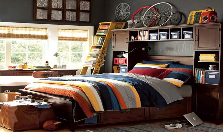 home design 12 - دکوراسیون اتاق خواب نوجوانان