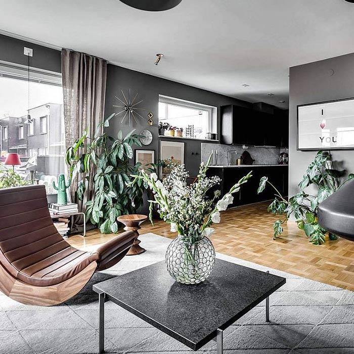 plants for appartment 1 - گیاه های آپارتمانی در دکوراسیون داخلی