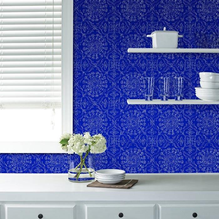 wallpaer inerior design 29 - انواع كاغذ ديواری در دكوراسيون داخلی