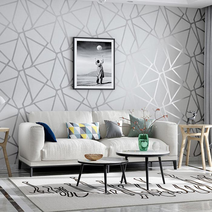 wallpaer inerior design 31 - انواع كاغذ ديواری در دكوراسيون داخلی