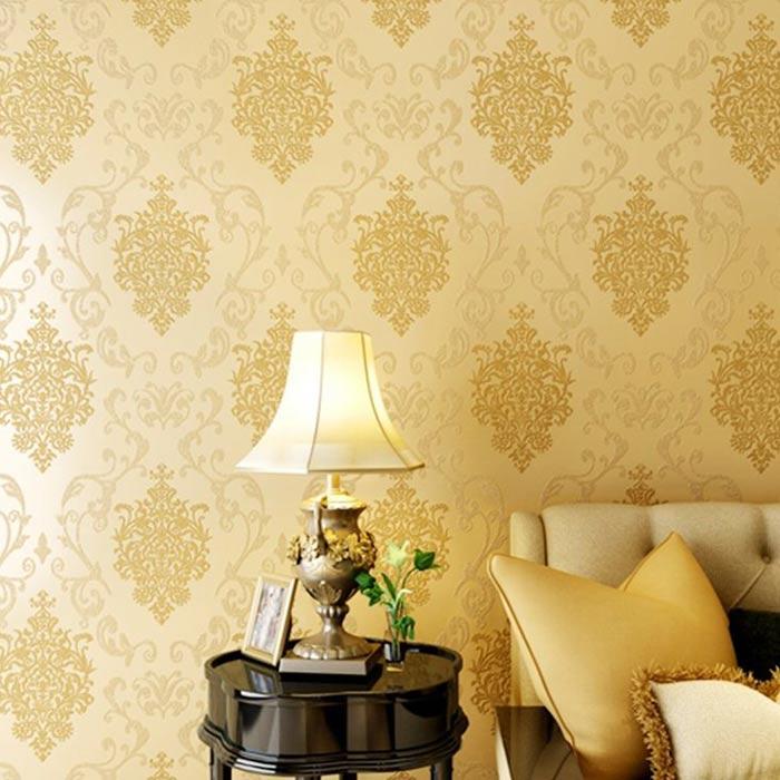 wallpaer inerior design 35 - انواع كاغذ ديواری در دكوراسيون داخلی