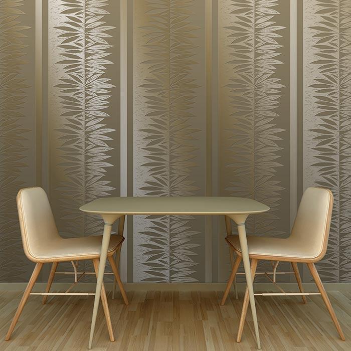 wallpaer inerior design 4 - انواع كاغذ ديواری در دكوراسيون داخلی
